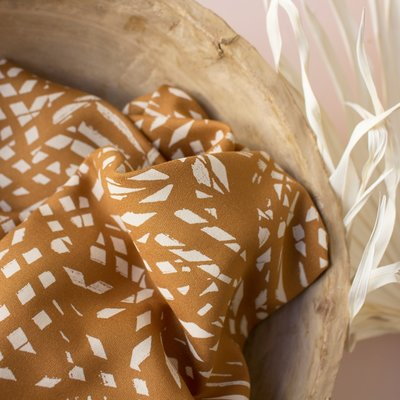 Atelier Brunette - Shade Ochre (Lenzing™️EcoVero™️viscose fibers) €19,90 p/m