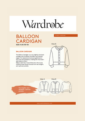 Wardrobe by Me - Balloon Cardigan €16,50