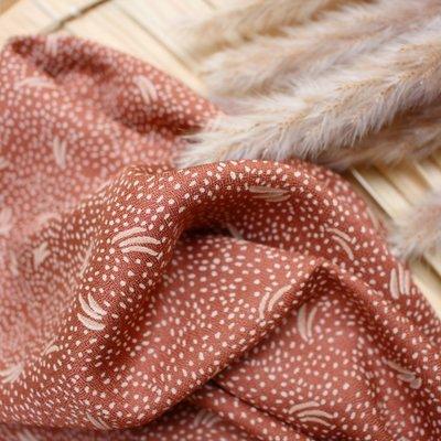 COUPON 95cm Atelier Brunette - Dune Chestnut (Lenzing™️EcoVero™️viscose fibers)  €19,90 p/m