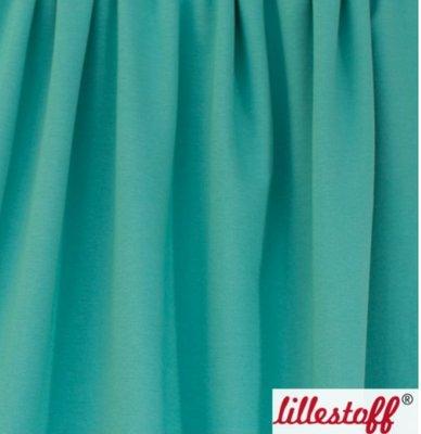 COUPON 45cm Lillestoff - solid mint  (jersey) €15 p/m GOTS