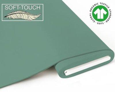 Fabrilogy - Pistache soft touch €11,70 p/m GOTS
