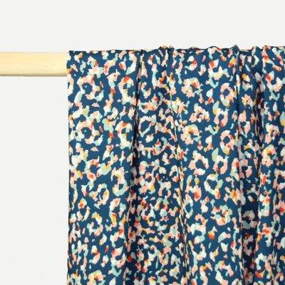 RESTOCK AUG Atelier Jupe - Blue viscose with animal print €25 p/m