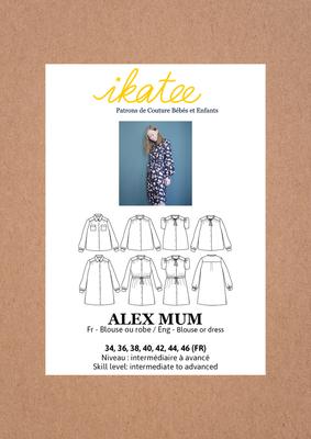 Ikatee - Alex blouse or dress MUM 34-46