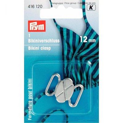 Prym Bikinisluiting zilver 12mm  €3,80 p/set