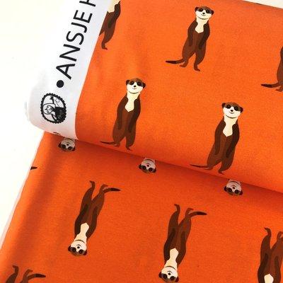 Ansje Handmade - Stokstaartje jersey - Reneesillustrations €23,50 p/m