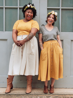 Sew Liberated - Estuary skirt €18,95