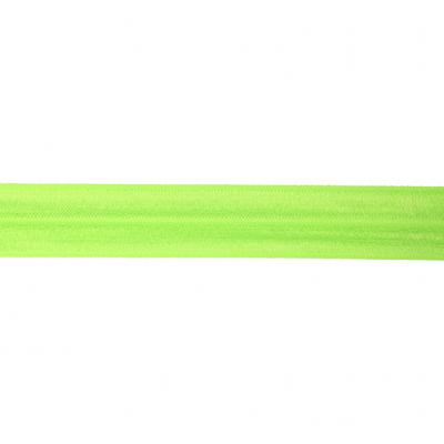 Neongroen - Elastisch Biais 20mm