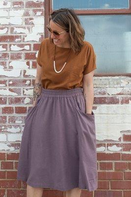 Sew Liberated - Gypsum skirt €18,95