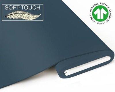 Fabrilogy - Indigo soft touch €11,70 p/m GOTS