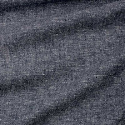 Ecological Textiles - Hemp/tencel dark blue melange poplin   €22,50