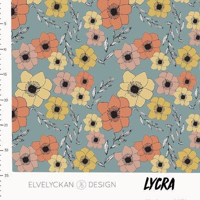 Elvelyckan  - LYCRA Anemone €23 p/m (oekotex)