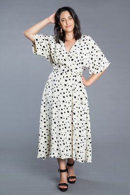 Closet Core Patterns - Elodie wrap dress  €19,95
