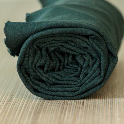 COUPON 50cm meetMilk - Stretch Jersey - Deep Green met TENCEL™ Lyocell vezels €21,50 p/m