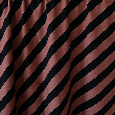 Mieli Design - Vinoraita rust JERSEY €25,50 p/m (organic)