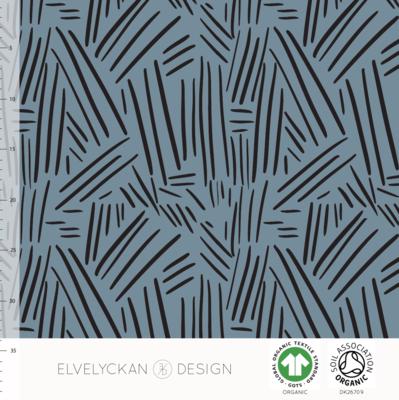 Elvelyckan  - Spikes blue COLLEGE €23 p/m (GOTS)