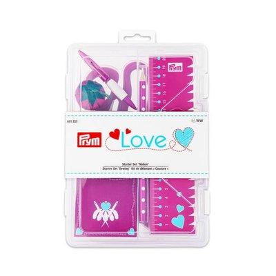 Prym LOVE startset roze - €39 p/s