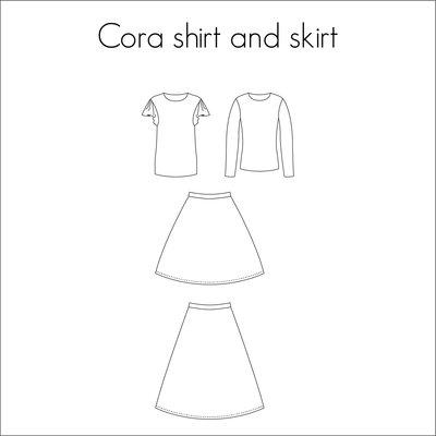 Bel'Etoile - Cora rok & shirt mt 32-52