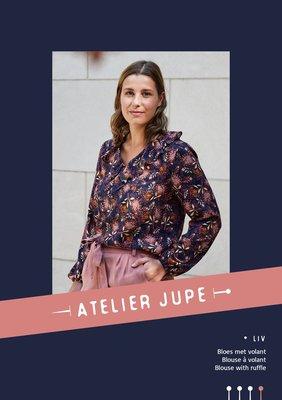 Atelier Jupe - Liv Blouse patroon €16,50 p/m