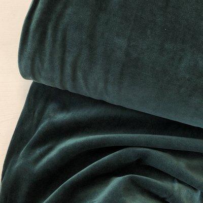 C. Pauli - Dark Green Nicky Velours 25,50 p/m GOTS