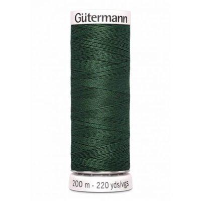 Gutermann 555 Donkergroen  - 200m