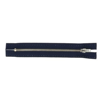 Jeans rits 20 cm donkerblauw - Opti
