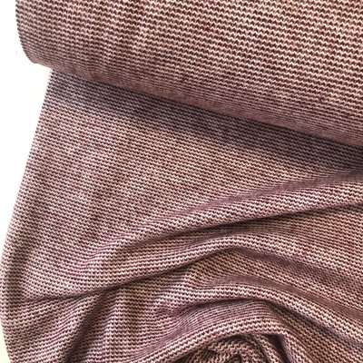 Verhees GOTS  - Recycled jacquard BORDEAUX €14,50 p/m