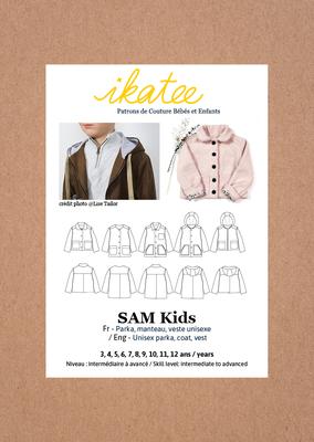 Ikatee - Sam Parka/jacket unisex 6m -4y €16 p/s