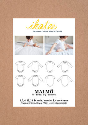 Ikatee - Malmo Bodysuit unisex 1m -4y €16 p/s