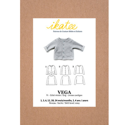 Ikatee - VEGA newborn fleece vest - Baby 1M/4Y €16 p/s