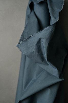 COUPON 140cm Merchant & Mills - Organic Dry Oilskin Majolica blue €31,90 p/m - GOTS