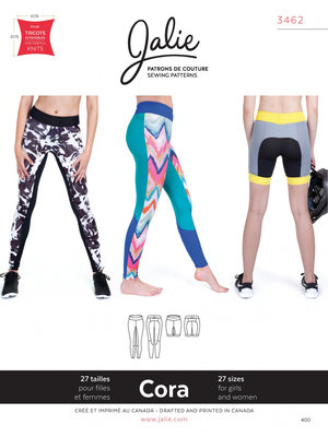 Jalie 3462 Sport leggings GIRLS & WOMEN €15