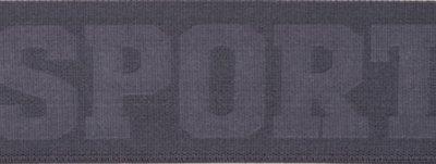 Grijs SPORT elastiek 40mm