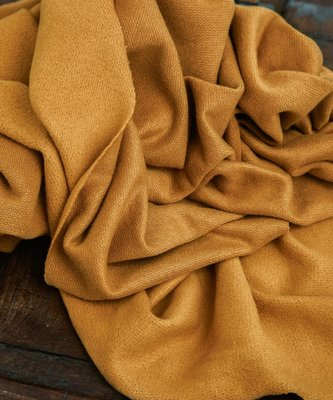 mindtheMAKER - Organic woolen FLEECE DRY MUSTARD €34,90 p/m