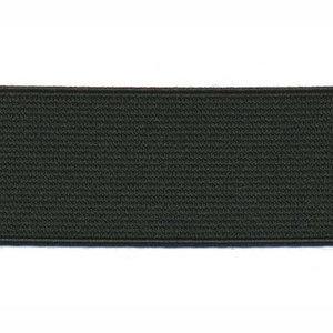 Zwart elastiek 30 mm