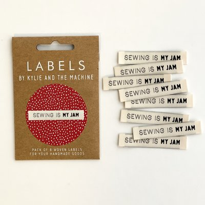 KYLIE & THE MACHINE - SEWING JAM 8 labels €6,50 per set