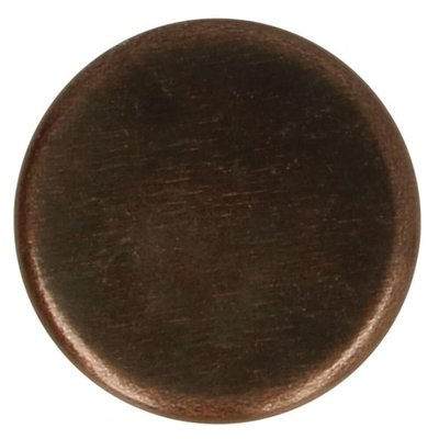 Jeansknopen 14mm rood-brons