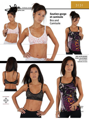 Jalie 3131 Bra & Camisole GIRLS & WOMEN €15