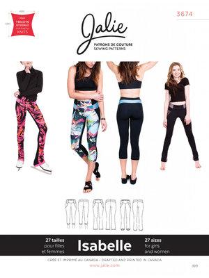 Jalie 3674 Isabelle Leggings and skating pants GIRLS & WOMEN €15