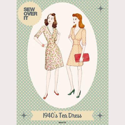 Sew Over It - 1940's Tea dress Dress €15