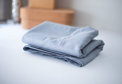 mindtheMAKER - washed COTTON TWILL sky blue 9oz €19,90 p/m