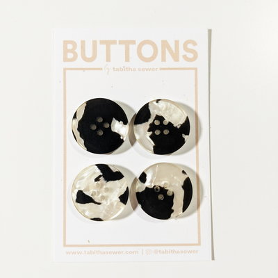 Tabitha Sewer - Jasper Classic buttons 20mm €8,50 p/set