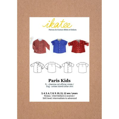Ikatee - PARIS kids Shirt 3-12Y  €16 p/s