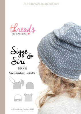 Threads by Caroline SIGGE&SIRI BABY50 t/m SIZE L €12,50