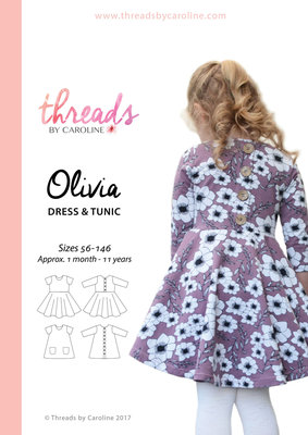 Threads by Caroline OLIVIA DRESS mt56-146 €18