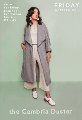 Friday Pattern Co. - Cambria Duster €18,70