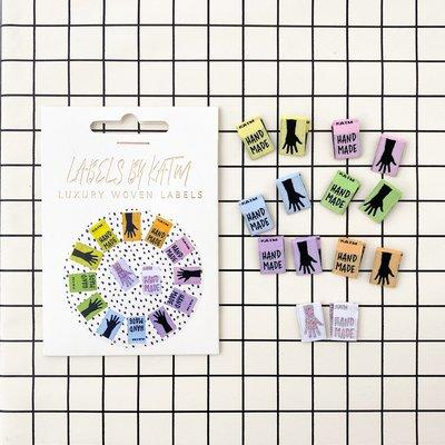 KYLIE & THE MACHINE - Mini hands 14 labels €7,95 per set