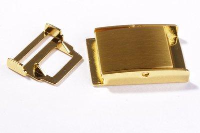 Ceintuur/tas en siergesp 25 mm  gold - €5,99 per stuk