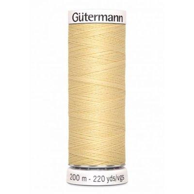 Gutermann 325 light yellow - 200m
