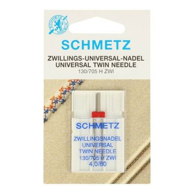 Twin Needle Schmetz 4,0/80 (universeel)