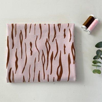 Ansje Handmade - Zebra pink JERSEY €23,50 p/m
